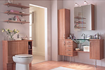 Oak bathroom furniture