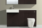 Wenge bathroom furniture