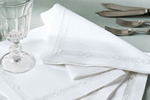 Linen napkins and tablemats