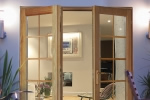 Jeld Wenn wooden patio doors
