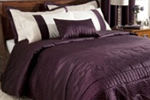 Dunelm Mill Plum Circles bedding