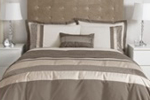 Dunelm Mill Gold Eternity Bedding
