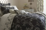 Dunelm Mill Emilio Black Dorma bedding