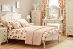 Florence painted bedstead