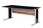 Gloss office desk