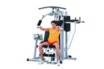 Multigym for home fitness rooms