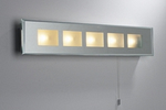 Bathroom wall light in chrone