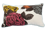 Roses linen cushions