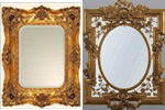 French decorative mirrors