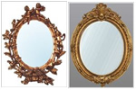 French ornate mirrors
