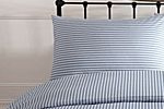 Shirting stripe bed linen