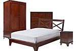 Colonial bedroom furniture collection