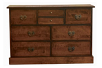 Laura Ashley chestnut bedroom chest of drawers