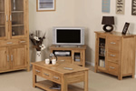 Oak country living room furniture