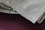 Damson Tablecloth, Stone Napkin