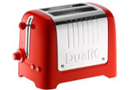 Red Dualit toaster