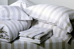 Tonder & Tonder brown stripe bedlinen