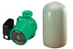 Boiler cylinders and pumps