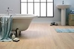 Beech wood effect laminate flooring